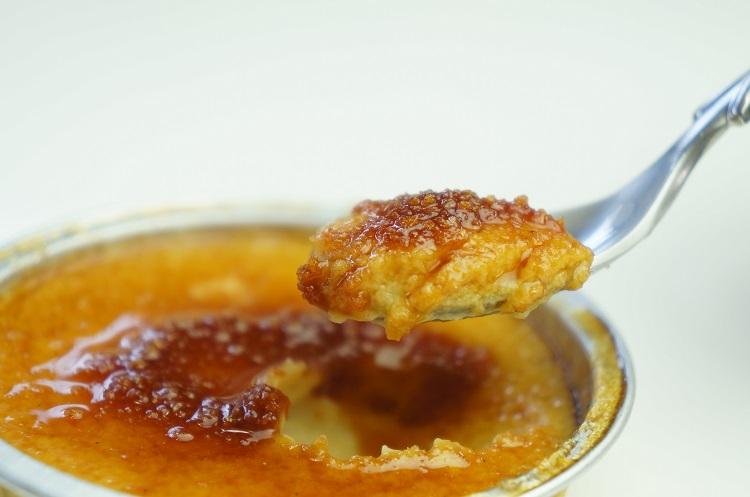 安納芋のクリームブリュレ