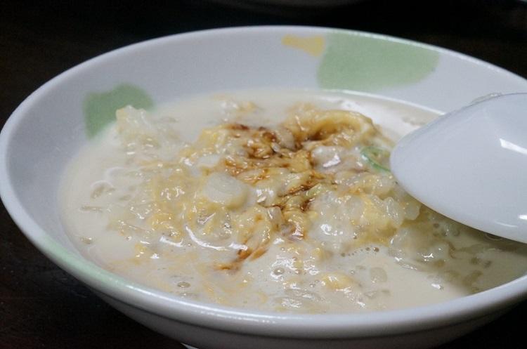 温泉湯豆腐雑炊