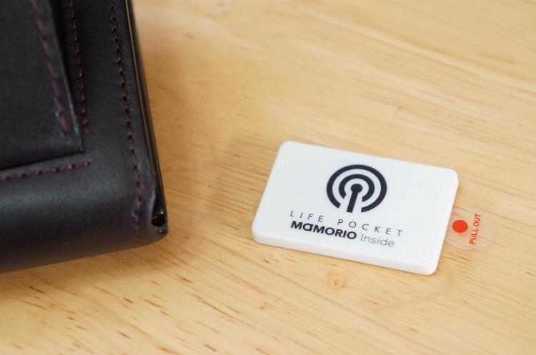 gps付財布